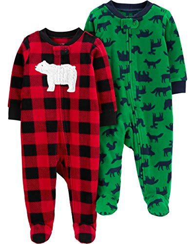 Carters Baby Boys 2-pk Bear Sleeper Gowns