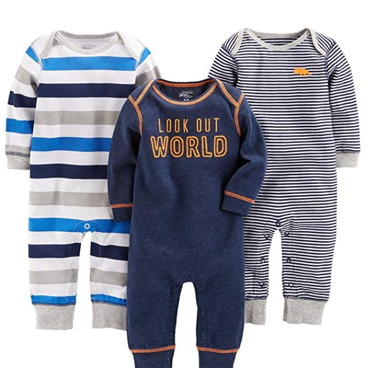 carters boys 3 pack sleepers