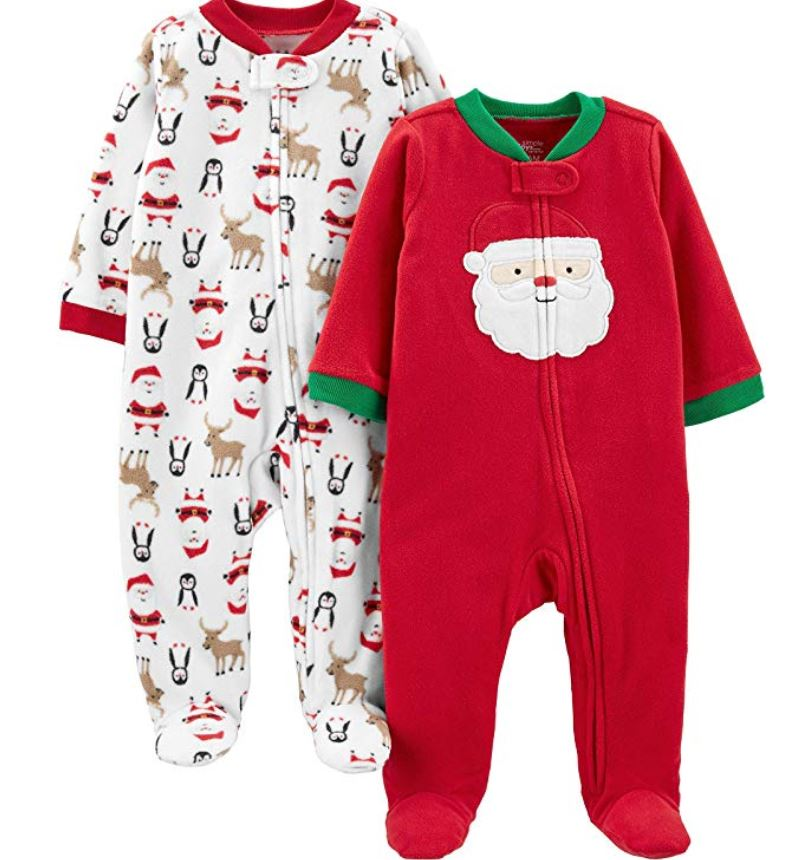 carters christmas sleepers
