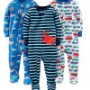 simple joys by carter boy 3 pack pajamas
