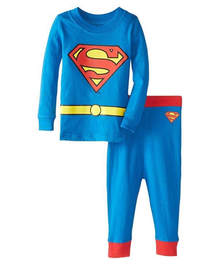 dc comics superman pajamas