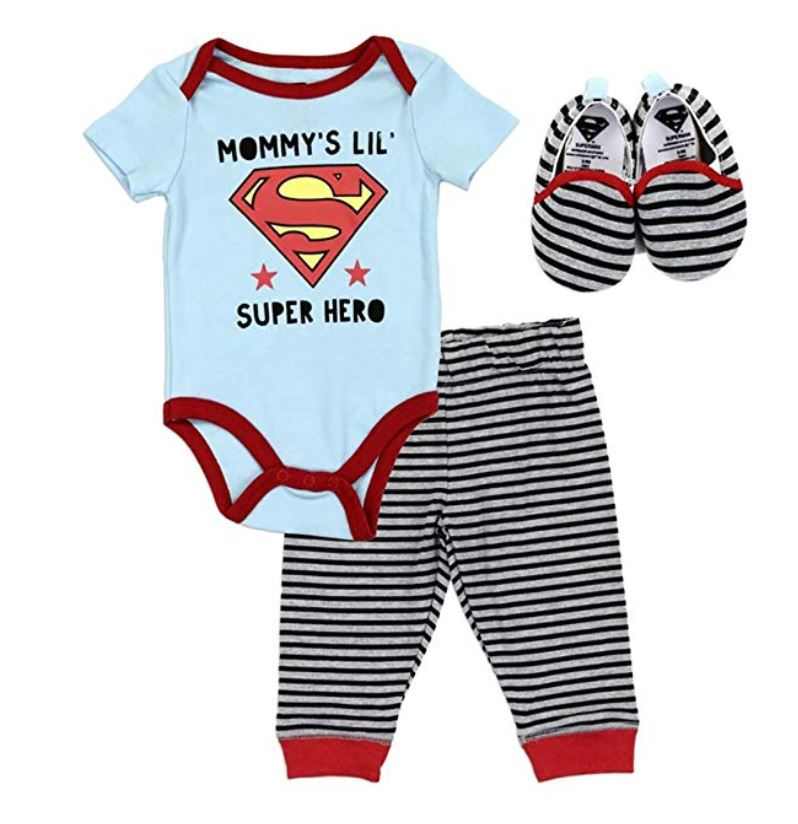 mommys superhero 3 piece outfit