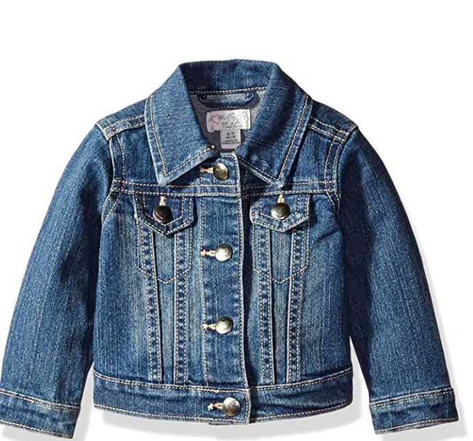 childrens place denim jacket