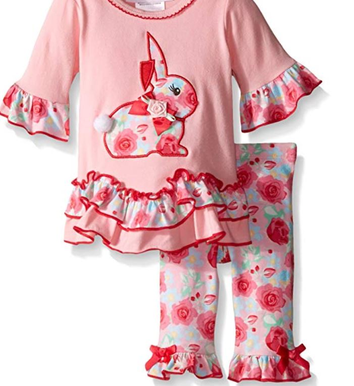 Baby Girls 2 piece easter play wear