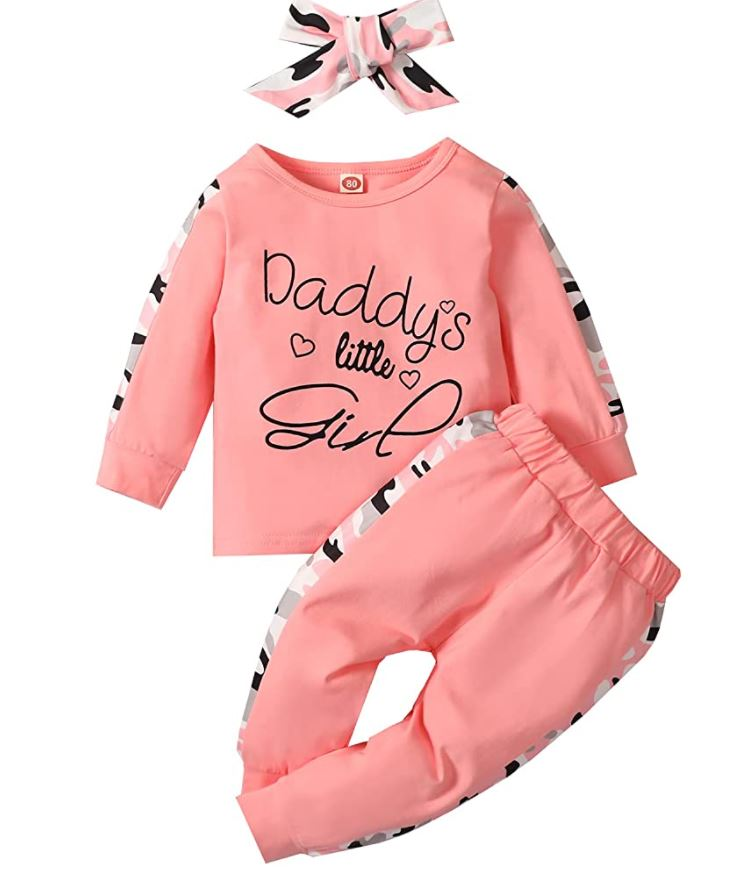 daddys girl 3 piece fall outfit
